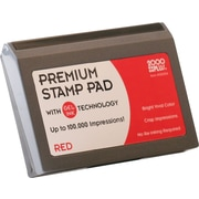 Cosco® 2000 Plus® Gel-Based Stamp Pad, Red, #1- 2 3/4 x 4 1/4