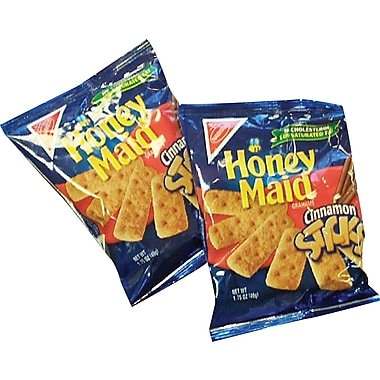 Honey Maid® Cinnamon Sticks, 1.75 oz. Bags, 60 Bags/Box