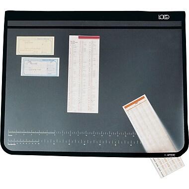 Artistic Logo Pad Desktop Organizer, 19in. x 24in., Black