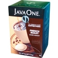 Java One Single Cup French Roast Ground Coffee, Regular, .3 oz., 14 Pods