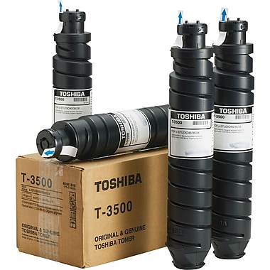 Toshiba Black Toner Cartridges (T-3500D), 4/Pack