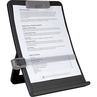 Staples Curved Desktop Copyholder