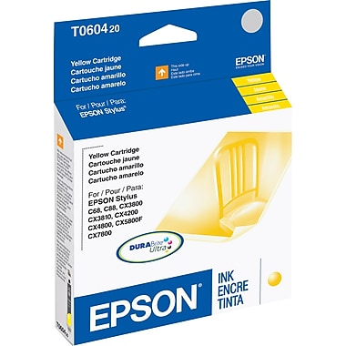 Epson 60, Yellow Ink Cartridge (T060420)