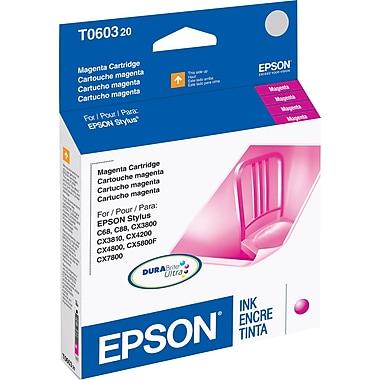 Epson 60, Magenta Ink Cartridge (T060320)