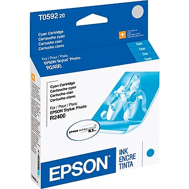 Epson T0592 Cyan Ink Cartridge (T059220)