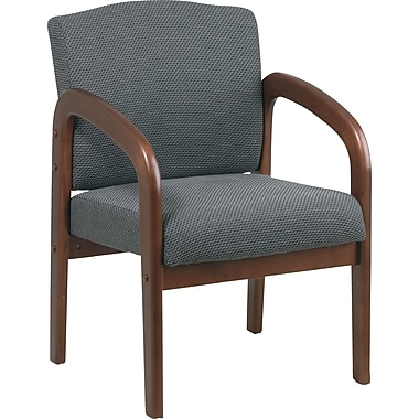 Office Star™  Cherry Finish Wood Guest Chairs