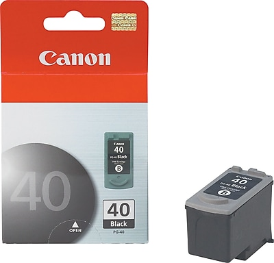 Canon PG-40 Black Ink Cartridge (0615B002) 611564