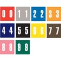 Ames Color-File® Numeric Labels, Number 7