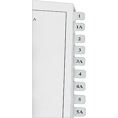 Redi-Tag Laser Index Tabs, 7/16in. x 1in., White