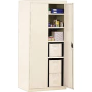Sandusky Deluxe Steel Welded Storage Cabinet, 72H x 36W x 18D, Putty