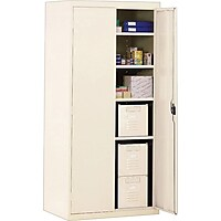 Sandusky Series 36 in. W x 72 in. H x 18 in. Deluxe Steel Welded Storage Cabinet (Multiple Colors)