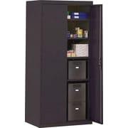 Sandusky Deluxe Steel Welded Storage Cabinet, 72H x 36W x 18D, Black