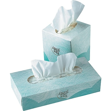 Angel Soft ps Facial Tissues, 2-Ply