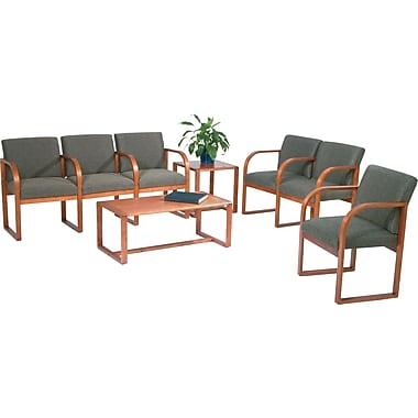 Office Star  Pro-Line II™ Oak Modular Reception Seating