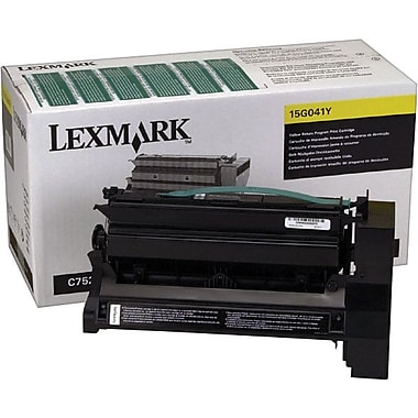 Lexmark 15G042Y Yellow Return Program Toner Cartridge, High Yield