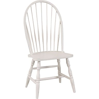 Carolina Cottage Collection Colonial Windsor Chair, Antique Ivory