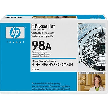 HP 98A (92298A) Black Original LaserJet Toner Cartridge