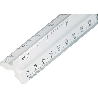 Staedtler® Mars® 12in. Architect's Triangular Scale