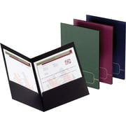 Oxford Design Monogram 2-Pocket Folders