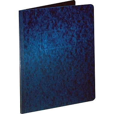 Oxford® PressGuard® Report Cover with Fastener, 8 1/2in. x 11in., Dark Blue