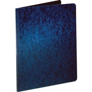 Oxford® PressGuard® Report Cover with Fastener, 8 1/2 x 11, Dark Blue