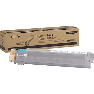 Xerox Phaser 7400 Cyan Toner Cartridge (106R01077), High Yield
