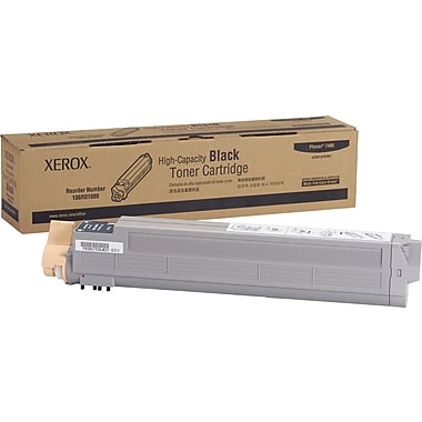 Xerox Phaser 7400 Black Toner Cartridge (106R01080), High Yield