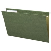 Smead® Standard Green Hanging File Folders, 3 Tab, Legal, 25/Box
