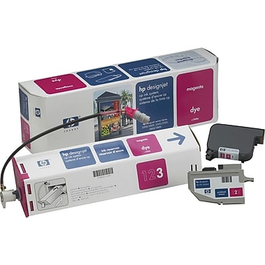 HP DesignJet CP Magenta Dye Ink System (C1808A), 410ml