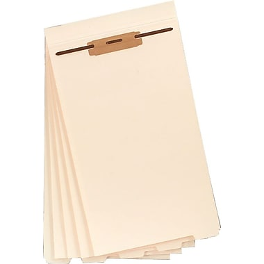 Smead Folder Dividers w/ Fasteners, Legal, 50/Box