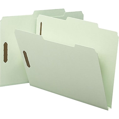 Smead Expanding Fastener Folders, Letter, 1in. Expansion, 25/Box