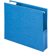 Smead® Closed-Side Flexible Hanging File Pockets, Letter, 2 Expansion, 25/Box