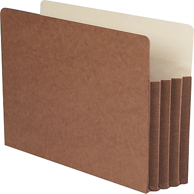 Smead® Top-Tab Tuff Pocket Expanding File, Legal, 3 1/2in. Expansion, 10/Pack