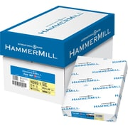 "Hammermill® Fore® 102921 Multipurpose Paper, 3-Hole Drilled, Canary, 8 1/2""(W) x 11""(L), 500/Ream"