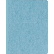 "Oxford® PressGuard® Report Cover with Fastener, 8 1/2"" x 11"", Light Blue"