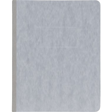 Oxford® PressGuard® Report Cover with Fastener, 8 1/2in. x 11in., Gray
