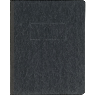 Oxford® PressGuard® Report Cover with Fastener, 8 1/2in. x 11in., Black