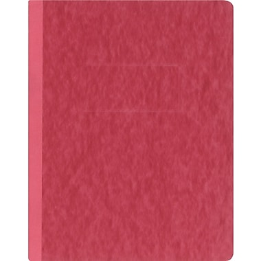 Oxford® PressGuard® Report Cover with Fastener, 8 1/2in. x 11in., Executive Red