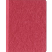 "Oxford® PressGuard® Report Cover with Fastener, 8 1/2"" x 11"", Executive Red"