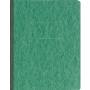 "Oxford® PressGuard® Report Cover with Fastener, 8 1/2"" x 11"", Dark Green"