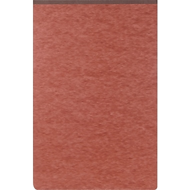 Oxford® PressGuard Report Cover with Top Hinge, 8 1/2in. x 14in., Red/Brown