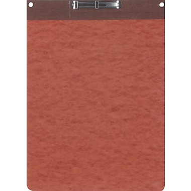 Oxford® PressGuard Report Cover with Top Hinge, 8 1/2in. x 11in., Red/Brown