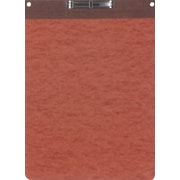 Oxford® PressGuard® Report Cover with Top Hinge, 8 1/2 x 11, Red/Brown
