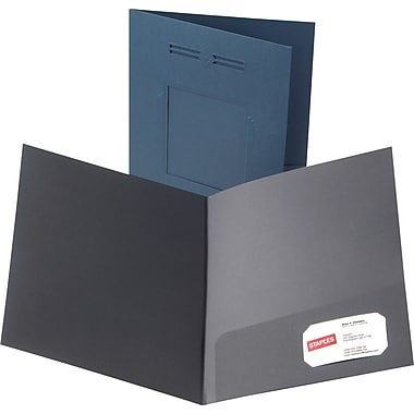 Oxford Laserview Premium 2-Pocket Folders