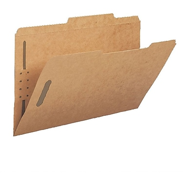 Smead® Guide-Height Kraft Fastener Folders, Legal, 50/Box