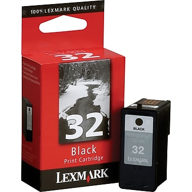 Lexmark 32 Black Ink Cartridge (18C0032)