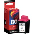 Lexmark 80 Color Ink Cartridge (12A1980)