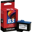 Lexmark 83 Tri-color Ink Cartridge (18L0042)