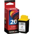 Lexmark 20 Color Ink Cartridge (15M0120)