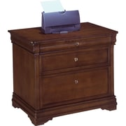 DMI Rue de Lyon Office Collection 2-Drawer Lateral File Cabinet, Brown, Legal (7684-16)